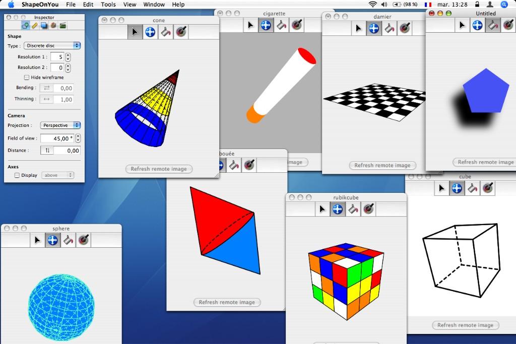 3d shapes names